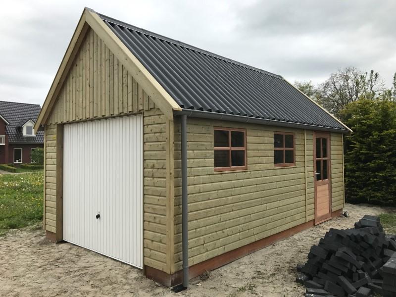 houten garage londen 1