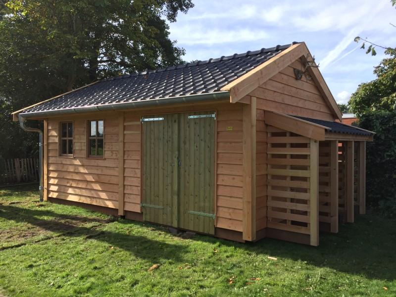 houten tuinschuur (2)