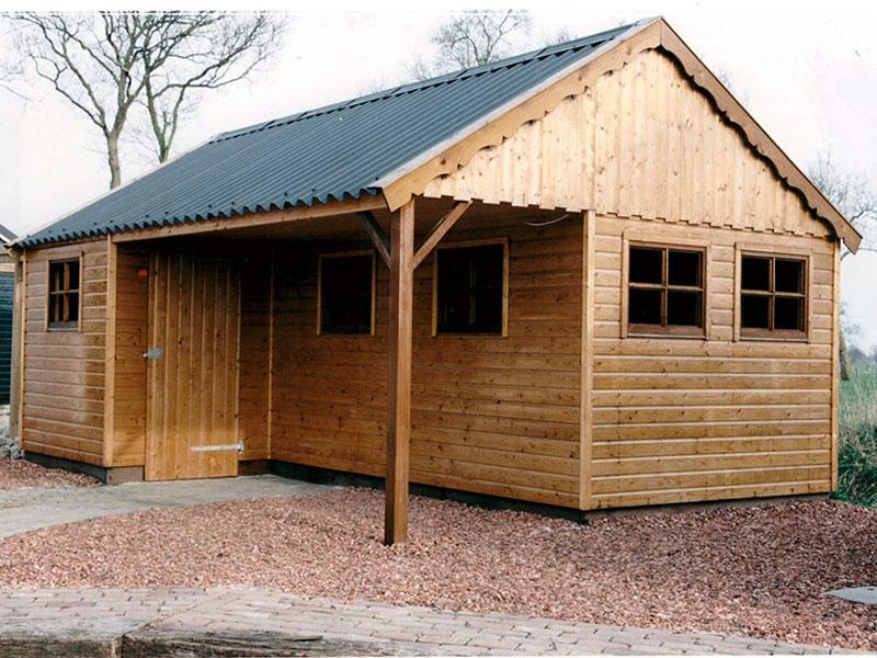 houten-tuinschuur