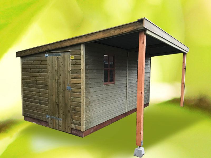 houten-berging-met-overkapping