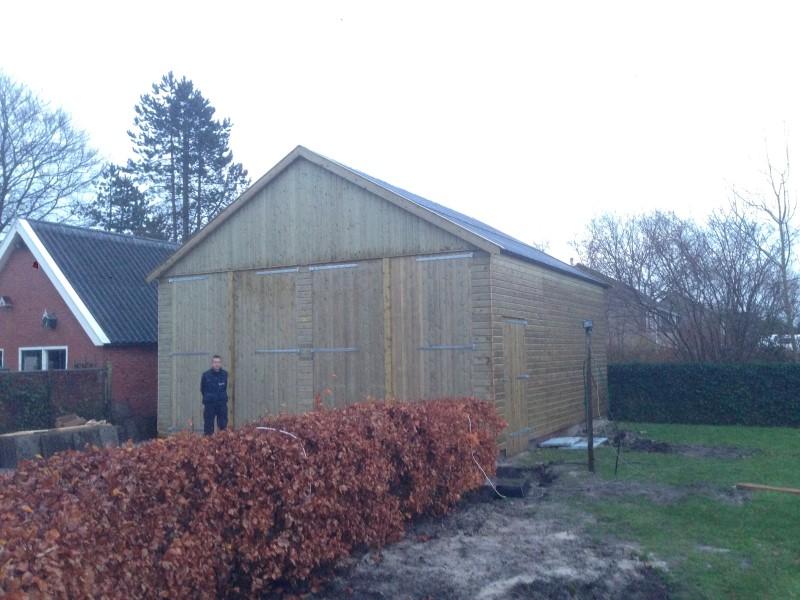 houten garage londen 8 ---
