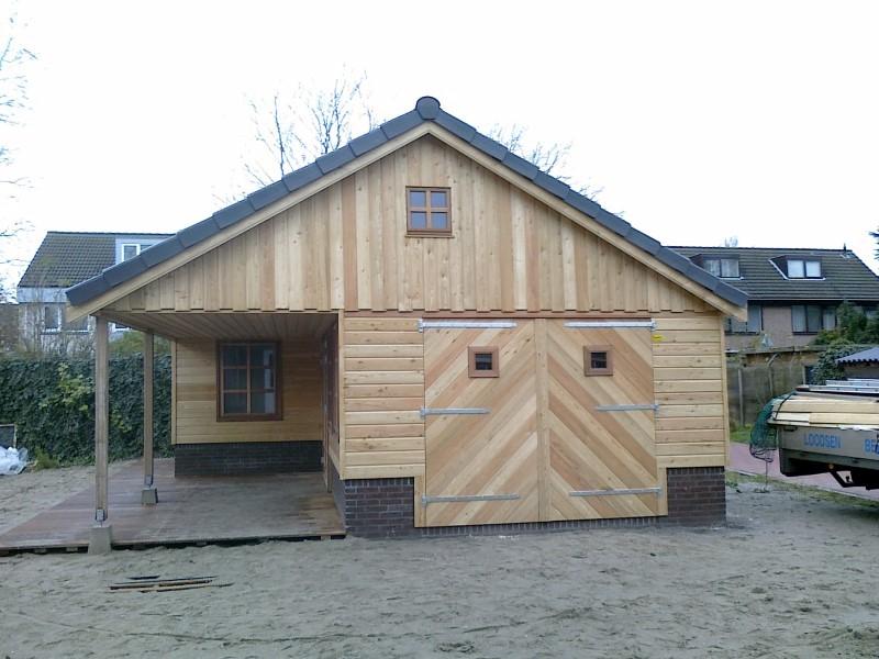 houten tuinhuis uithuizen (2)