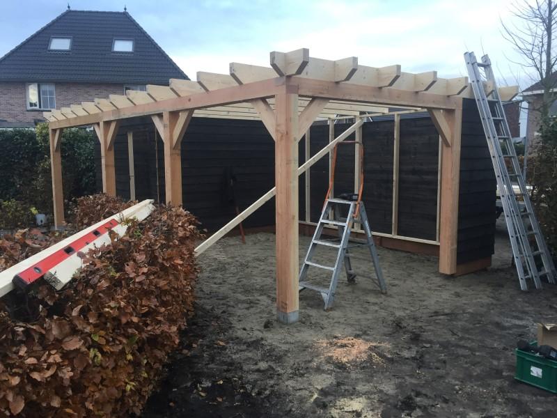 houten tuinoverkapping eelderwolde 4 (1)