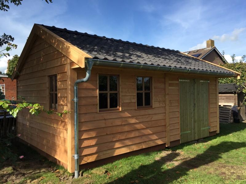 houten tuinschuur (1)
