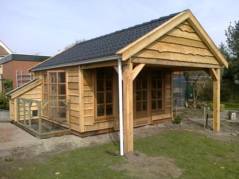 houten tuinschuur westerkwartier