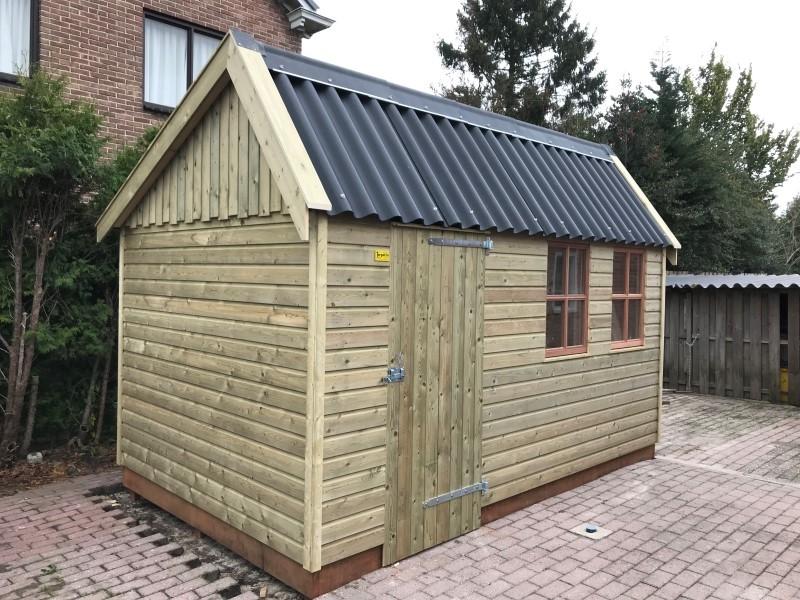 houten garage karel 2b